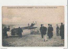EXPERIENCES DU PARACHUTE BONNET DEPART DE L AERO MUNI DU PARACHUTE BONNET - Parachutisme