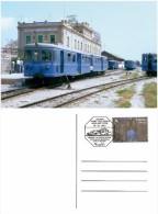 Spain 2015 - 100 Anys Trenet De La Marina.Ambulat Postal Special Postcard Cancellation - Marcofilia - EMA ( Maquina De Huellas A Franquear)