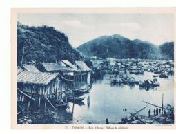 Viet Nam  Maxi Carte 240x180 Tonkin  Baie Da Longvillage De Pecheurs   Mx21 - Viêt-Nam