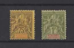 NOUVELLE-CALEDONIE.  YT  N° 52-53  Neuf *  1892 - Neukaledonien