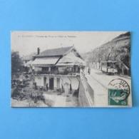 CPA-13-ALLAUCH-Terminus Des Trams Et Chalet Du Panorama - Allauch