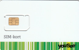 DENMARK - YouSee SIM-Kort, GSM Card , Mint - Danemark