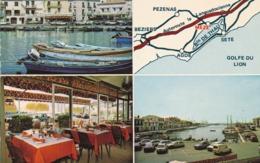Citroen CX GS Break GSA DS 2CV Peugeot 305 504 304 104 Renault R6 4L F6 R30 - MEZE HOTEL DU PORT Restaurant - Voitures De Tourisme