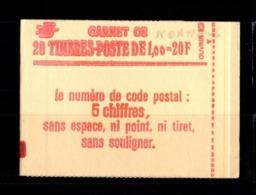 France Carnet 1973-C1 SABINE DE GANDON Fermé Conf 8 - Markenheftchen