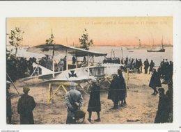 AVION AVIATEUR LE TAUBE CAPTIF A SALONIQUE CPA BON ETAT - ....-1914: Précurseurs