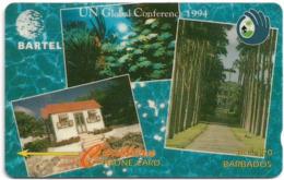 Barbados - Bartel (GPT) - Un Global Conference 1994, 14CBDB, 1994, 35.000ex, Used - Barbades