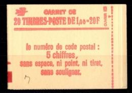 France Carnet 1973-C1 SABINE DE GANDON Fermé Conf 8 - Carnets