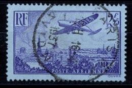 France Poste Aérienne 1936 - Avion Survolant Paris - YT N°10 - Oblitéré - 1927-1959 Oblitérés