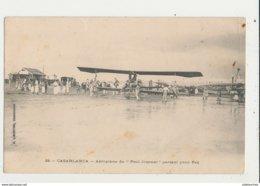 AVION AVIATEUR CASABLANCA AEROPLANE DU PETIT JOURNAL PARTANT POUR FEZ - ....-1914: Précurseurs