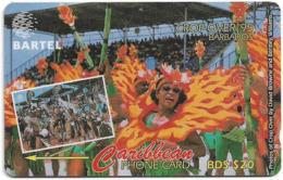 Barbados - Bartel (GPT) - Crop Over 95, 58CBDA, 1996, 40.000ex, Used - Barbades