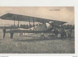AVION AVIATEUR AVION GAUDRON CPA BON ETAT - 1919-1938: Entre Guerres