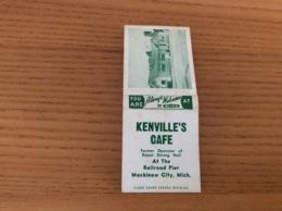 Boîte D'allumettes ETATS-UNIS «KENVILLE'S CAFE - Mackinaw City, Mich.» - Boites D'allumettes