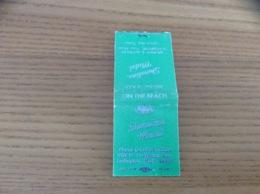 Boîte D'allumettes ETATS-UNIS «Shoreline Motel - Ludington, Mich.» - Boites D'allumettes