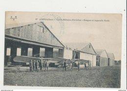AVORD CENTRE MILITAIRE D AVIATION HANGARS ET APPAREILS ECOLE CPA BON ETAT - ....-1914: Précurseurs