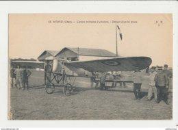 AVORD CENTRE MILITAIRE D AVIATION DEPART D UN BI PLACE CPA BON ETAT - ....-1914: Précurseurs