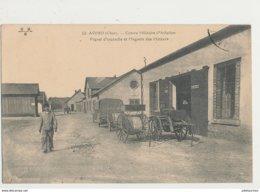 AVORD CENTRE MILITAIRE D AVIATION PIQUET D INCENDIE ET MAGASIN DES MOTEURS CPA BON ETAT - 1914-1918: 1ère Guerre