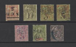 NOUVELLE-CALEDONIE.  YT  Timbres Divers  Obl  1881/1900 - Neukaledonien