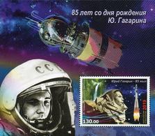 Kyrgyzstan 2019 85th Birth Anniversary Of Yury Gagarin Space SS MNH - Kyrgyzstan