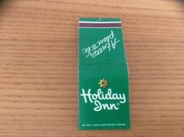 "Pochette D'allumettes ETATS UNIS ""Holiday Inn - A Better Place To Be"" Fond Vert - Boites D'allumettes"