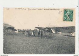 AVORD CENTRE MILITAIRE D AVIATION INSTRUCTION DES ELEVES PILOTES CPA BON ETAT - 1914-1918: 1ère Guerre
