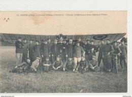 AVORD CENTRE MILITAIRE D AVIATION GROUPE D OFFICIERS ET SOUS OFFICIERS PILOTES - 1914-1918: 1ère Guerre