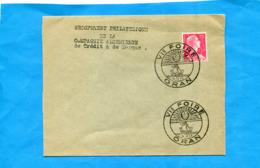 MARCOPHILIE-Lettre Cachet  VI ° Foire Oran -oct 1955 Sur T P Muller Algérie - Algérie (1924-1962)