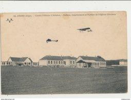 AVORD CENTRE MILITAIRE D AVIATION ATELIERS CASERNEMENTS ET PAVILLON DE L OFFICIER DIRECTEUR - 1914-1918: 1ère Guerre