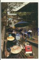 Thaïlande. Bangkok. Marché Flottant. Damnoen Saduak. 1983 - Thaïlande