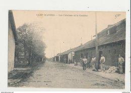 AVORD CENTRE MILITAIRE D AVIATION LES CUISINES ET LA CANTINE CPA BON ETAT - 1914-1918: 1ère Guerre