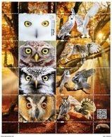 Poland 2017 Birds Owls Minisheet MNH - 1944-.... République