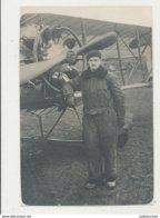 PHOTO AVIATEUR FORMAT CARTE POSTALE 1ER DECAMBRE 1921 CPA BON ETAT - Aviateurs