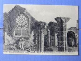 CPA (29) Finistère - Route D'AUDIERNE à PONT-L'ABBE, Ruines De La Chapelle De Languidou En Plovan. Pitiers - Audierne