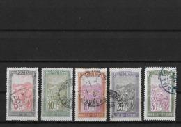 Madagascar Yv. 131 - 134 Et 136 O. - Oblitérés