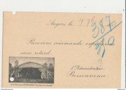 TANTES POUR AEROPLANE ANGERS - ....-1914: Précurseurs