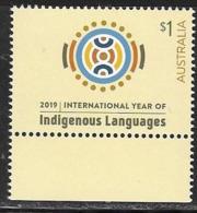 AUSTRALIA, 2019, MNH,  LANGUAGES, INTERNATIONAL YEAR OF INDIGENOUS LANGUAGES,1v - Languages