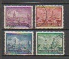 Allemagne ~ Pologne Gouvernement General  1942  N° 103 / 106 Oblitéré.série Compléte - 1939-44: 2. WK