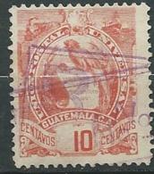 Guatemala     Yvert N°  49 Oblitéré  -   Aab 23912 - Guatemala