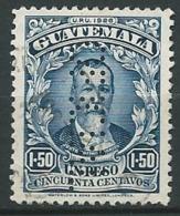 Guatemala  Service ( Perfore Oficial )   Yvert N°  59 Oblitéré  -   Aab 23917 - Guatemala