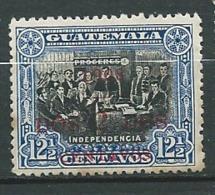 Guatemala  Aérien   Yvert N°  139 * ( Légere Rousseur Au Dos )   Aab 23920 - Guatemala