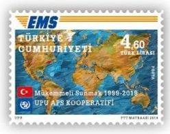 (4439) UPU EMS COOPERATIVE STAMPS MNH** - 1921-... Republic