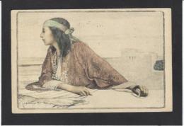 CPA Girardot Circulé Femme Girl Women Art Nouveau - Illustrateurs & Photographes