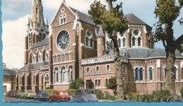 Citroen Traction 2CV Simca Ariane Renault Dauphine Solex - ARRAS - Eglise Notre-Dame Des Ardents - Voitures De Tourisme