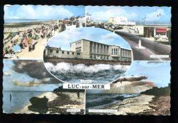 14 - Luc Sur Mer : CPSM Multivues - Luc Sur Mer