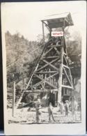 SILVER MINE Mexico Mina Carrillos Angangueo MICHOAGAN Real Photo 1926 Workers In Activity - Mexique