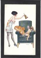 CPA Hérouard écrite Femme Girl Women Angelot érotisme éros - Illustrateurs & Photographes