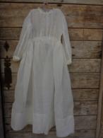 Robe De Communiante En Organdi Epaule A Epaule 34 Cm Hauteur 109 Cm - Kind