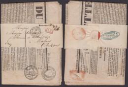 FRANCE BANDE JOURNAL DE MARSEILLE 1846 VERS MALINE (STATION DE MALINE) (DD) DC-4090 - Autres