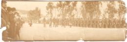 """Dépt 06 - MENTON - """"Arrivée Du GÉNÉRAL ANDRÉ à Menton - Mai 1903"""" - Photo Ancienne 9 X 28 Cm - (en L'état) - Menton"""