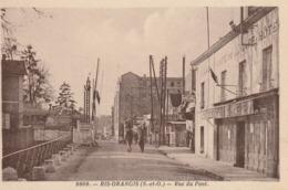 Ris Orangis,rue Du Pont,café De La Gare - Ris Orangis