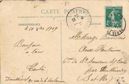 33993. Postal PARIS 25 (rue Danton) 1909 A Ponthieray. Vista La Grande Chartreuse, Le Tunnel - Francia